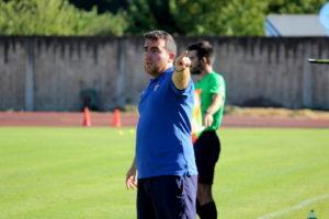 Javi Rey, entrenador del CD Barco