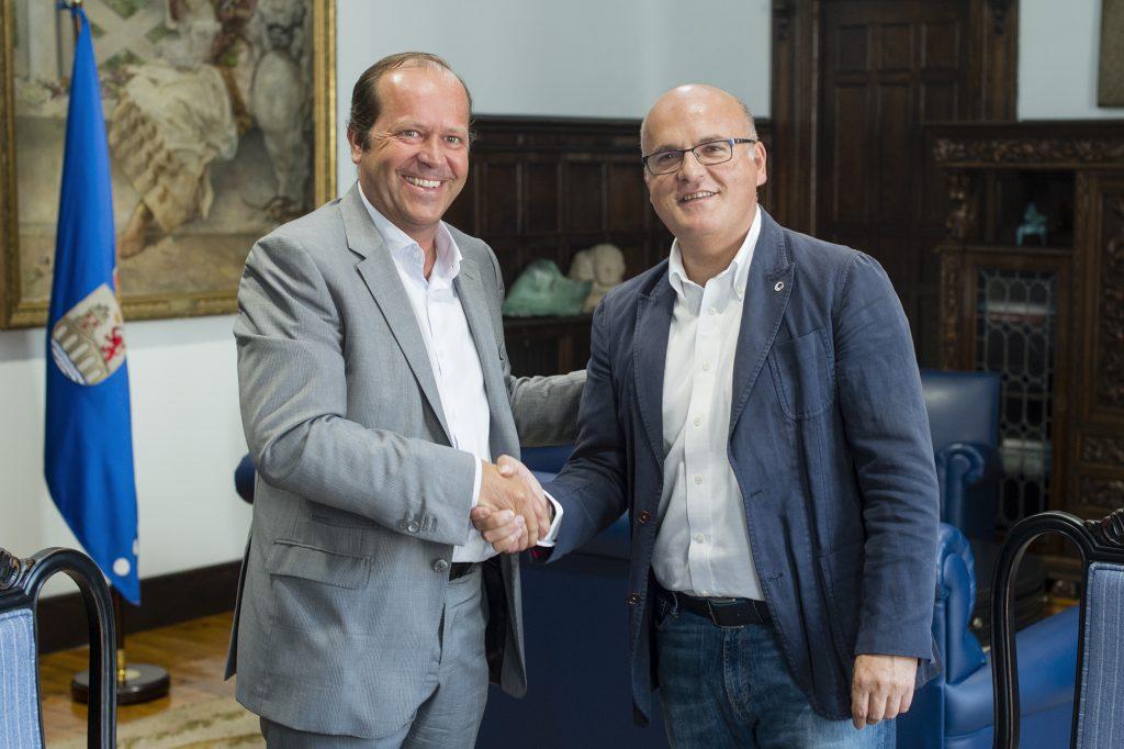 Javier Domínguez e Manuel Baltar