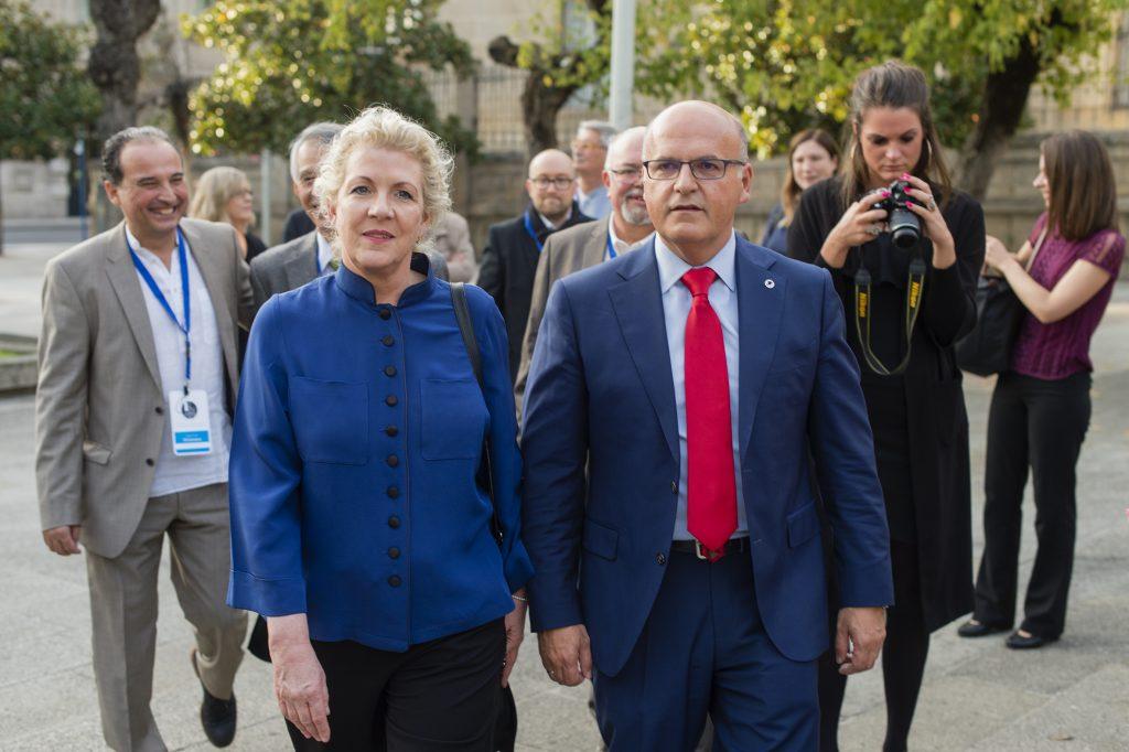Jennifer Clement e Manuel Baltar