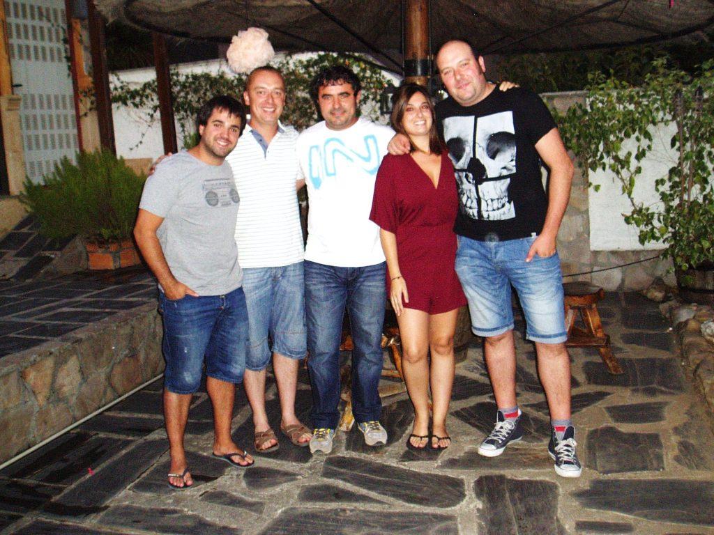 Músicos del grupo Los Íñigos