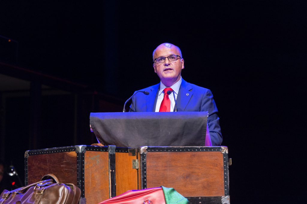 Manuel Baltar no acto inaugural do 82º Congreso do PEN Internacional