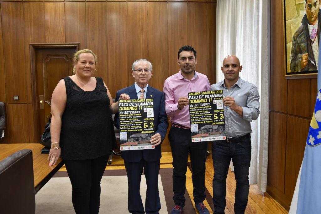 Marina Rodríguez, Amador Vázquez, Juan Anta e Marcos Vázquez.
