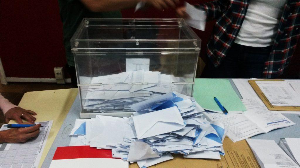 Momento de contar los votos