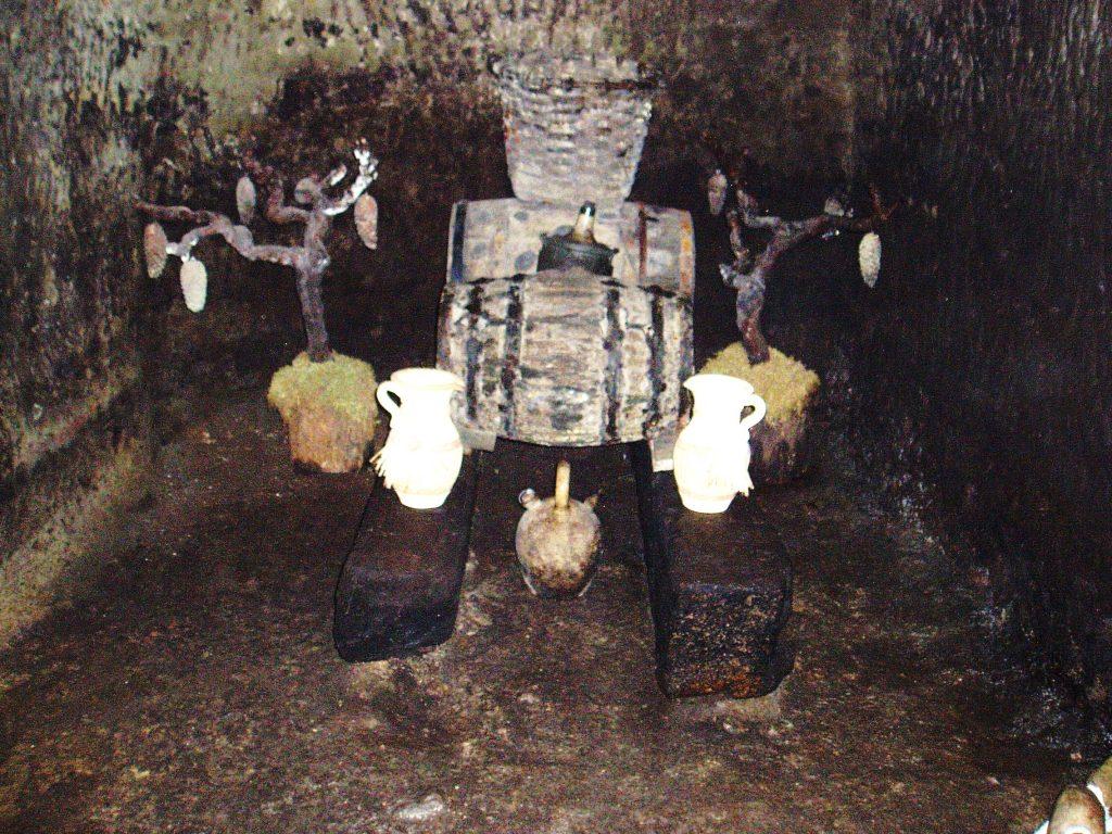 Un rincón de la cova