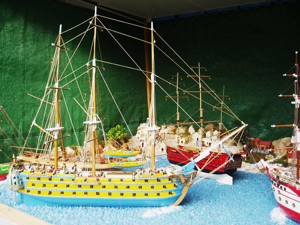 Uno de los barcos construido por Antonio González