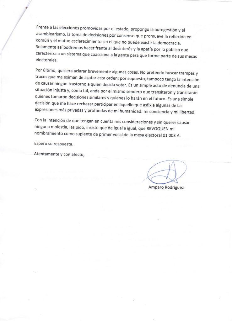 Carta electoral sellada. Parte 2