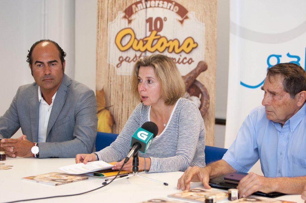 A directora de Promoción de Turismo de Galicia, Carmen Pita, presentou a décima edición do Outono Gastronómico en Turismo Rura. Foto Xoán Crespo