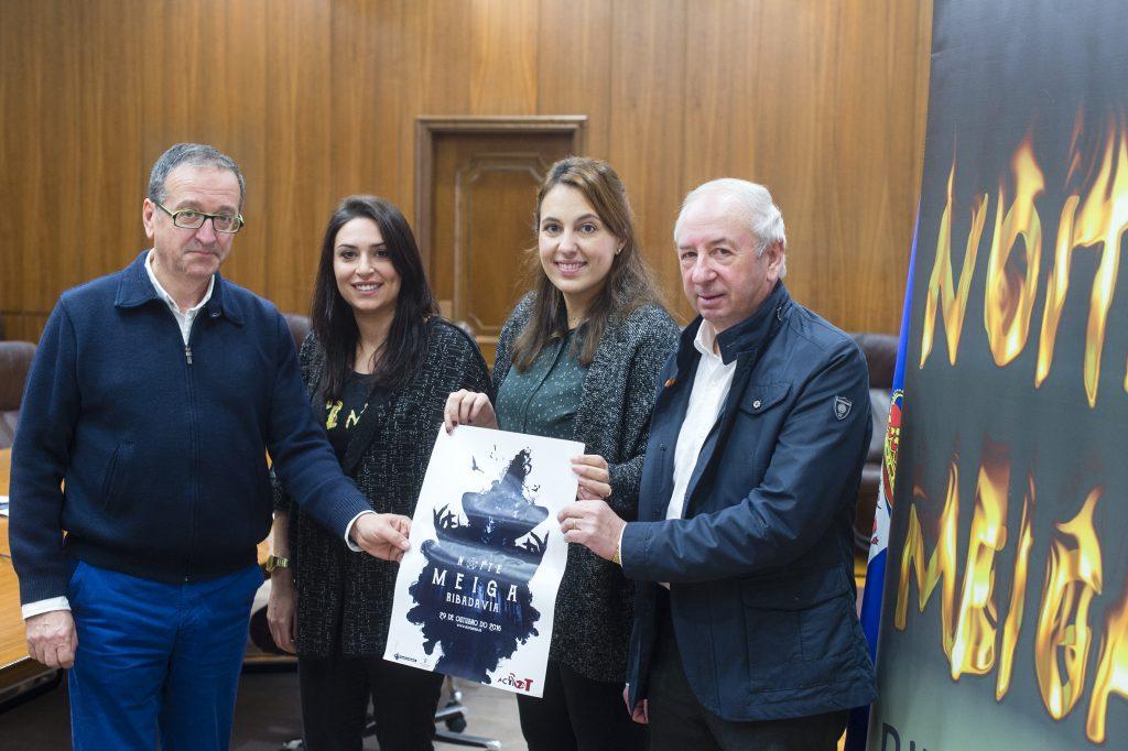 Aurelio Gómez Villar, Jéssica Martínez, Alba González e Manuel Doval
