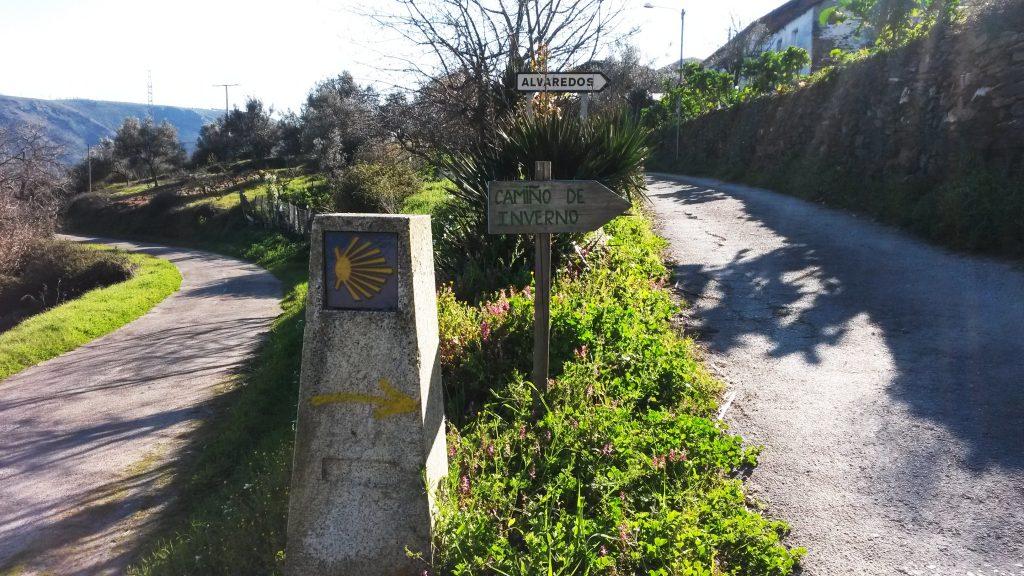 Camiño de Inverno, en Os Alvaredos
