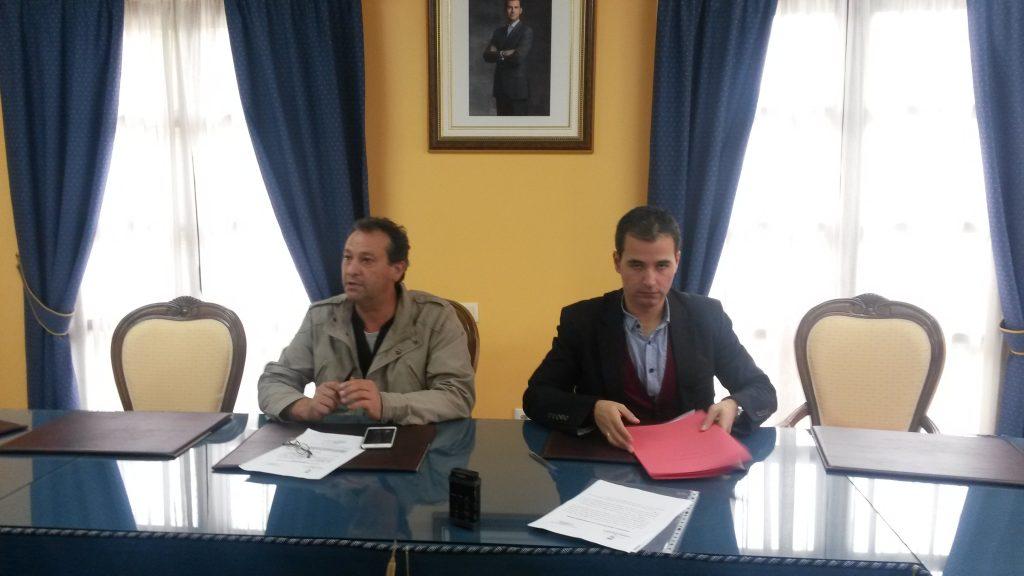 Enrique Álvarez Barreiro (a la izquierda)