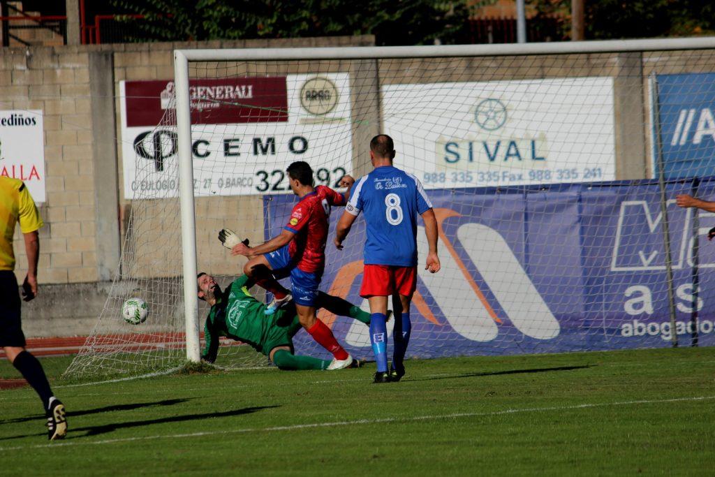 Javi Ballesteros marcando el 1 a 0