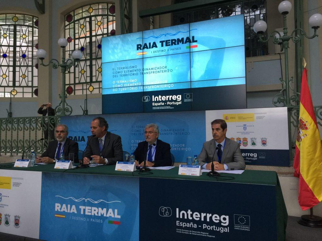Inauguración de O Termalismo como elemento dinamizador do territorio transfronteirizo