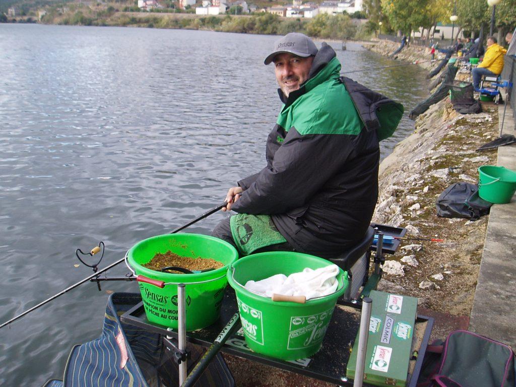 José Manuel Fernández Rodríguez, delegado de la Federación Galega de Pesca