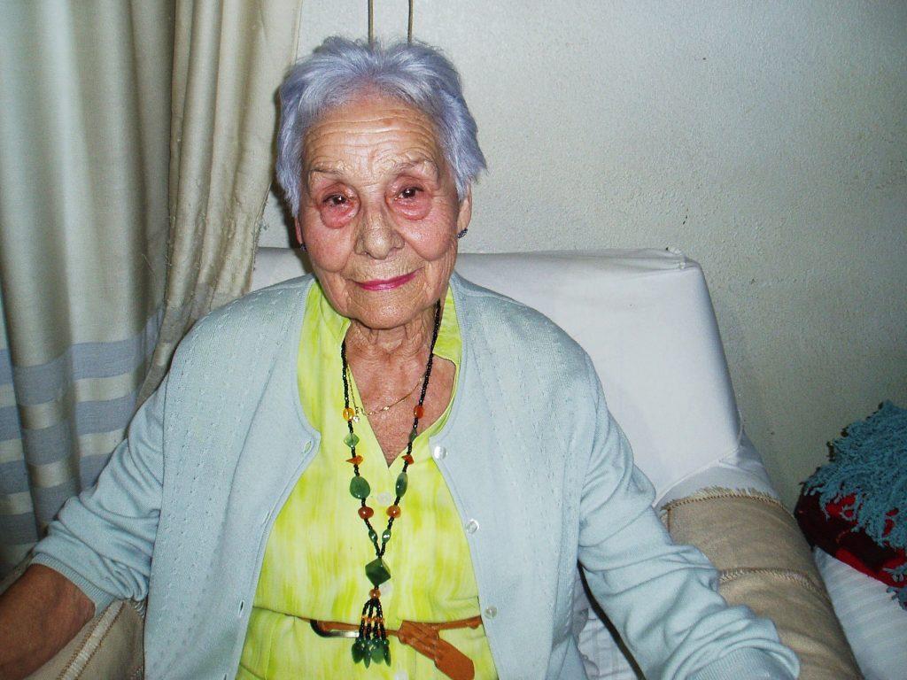 Josefa Álvarez Quiroga es de Portela pero lleva 60 años en O Barco