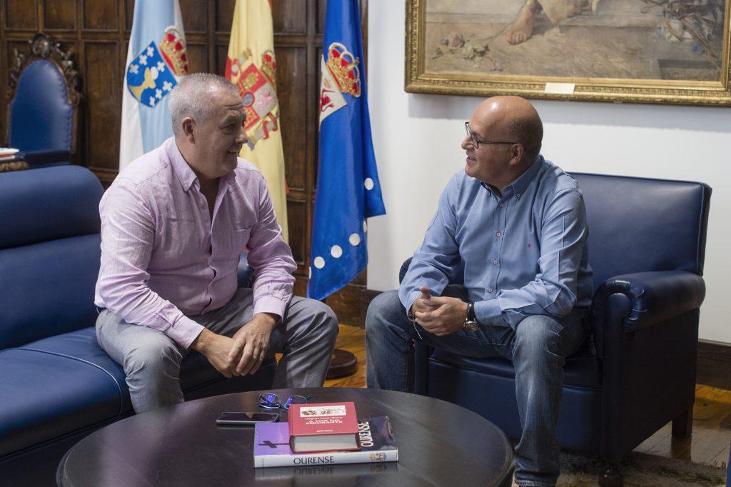 Juan Carlos Parada e Manuel Baltar
