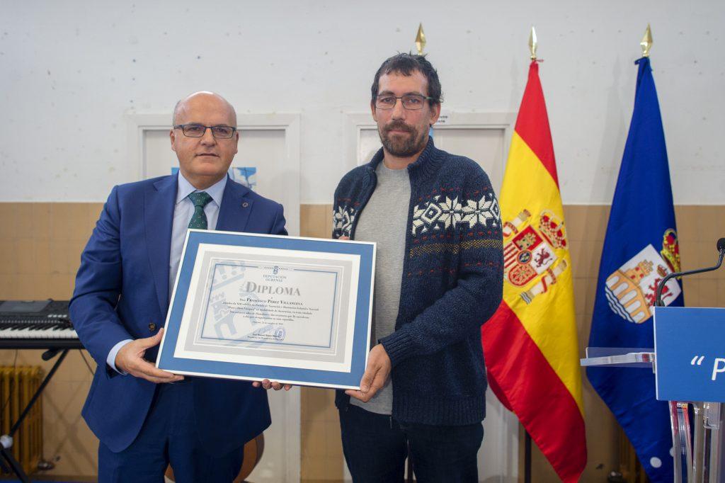 Manuel Baltar e Francisco Pérez