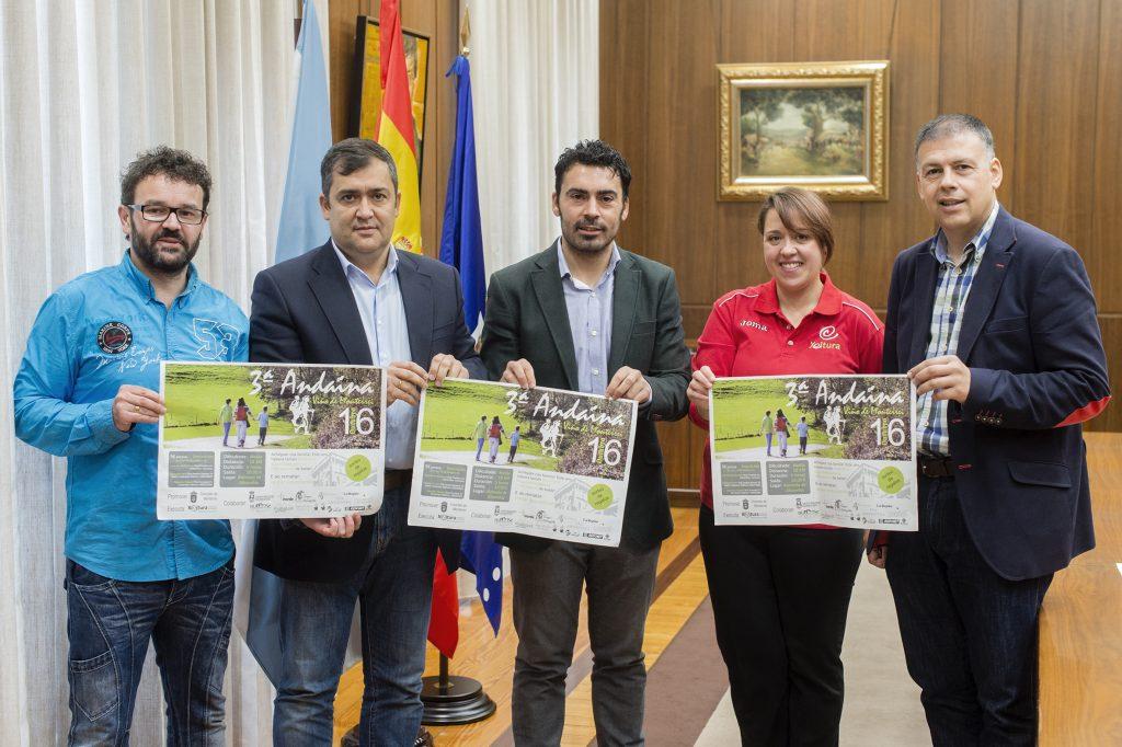 Marcos Meno, José Luis Suárez, Juan Anta, Begoña Garrido e Bernardino González