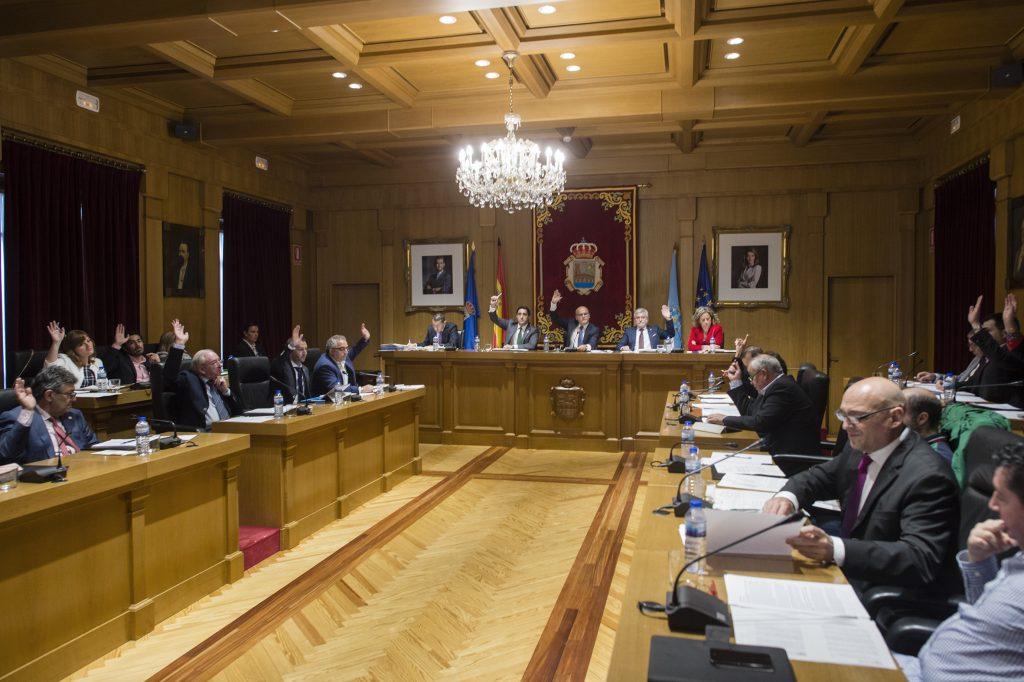 Pleno Deputación Ourense 28/10/2016