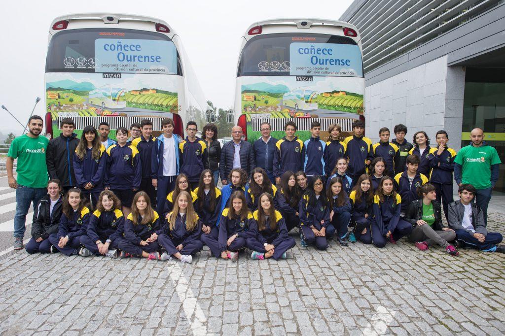 Presentación do programa escolar Coñece Ourense