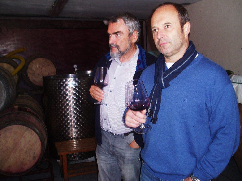 Profesionales del sector del vino y la hostelería en la visita
