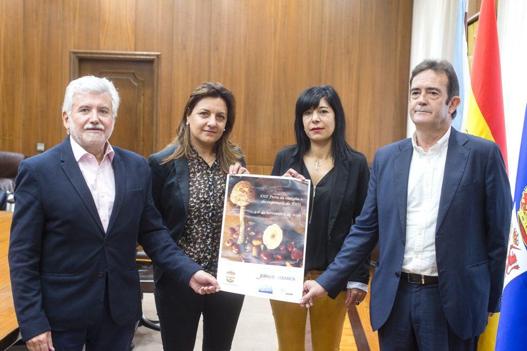 Rosendo Fernández, María Jesús Álvarez, Nuria Sánchez e Francisco A. Veiga
