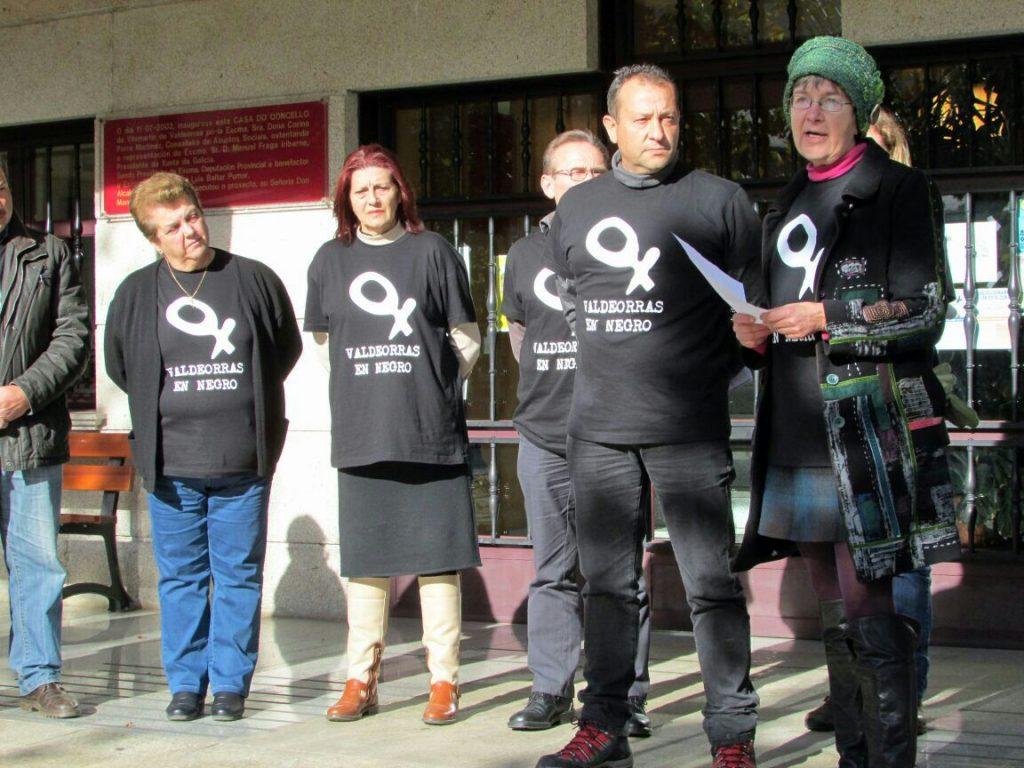 Contra la violencia de género en Vilamartín