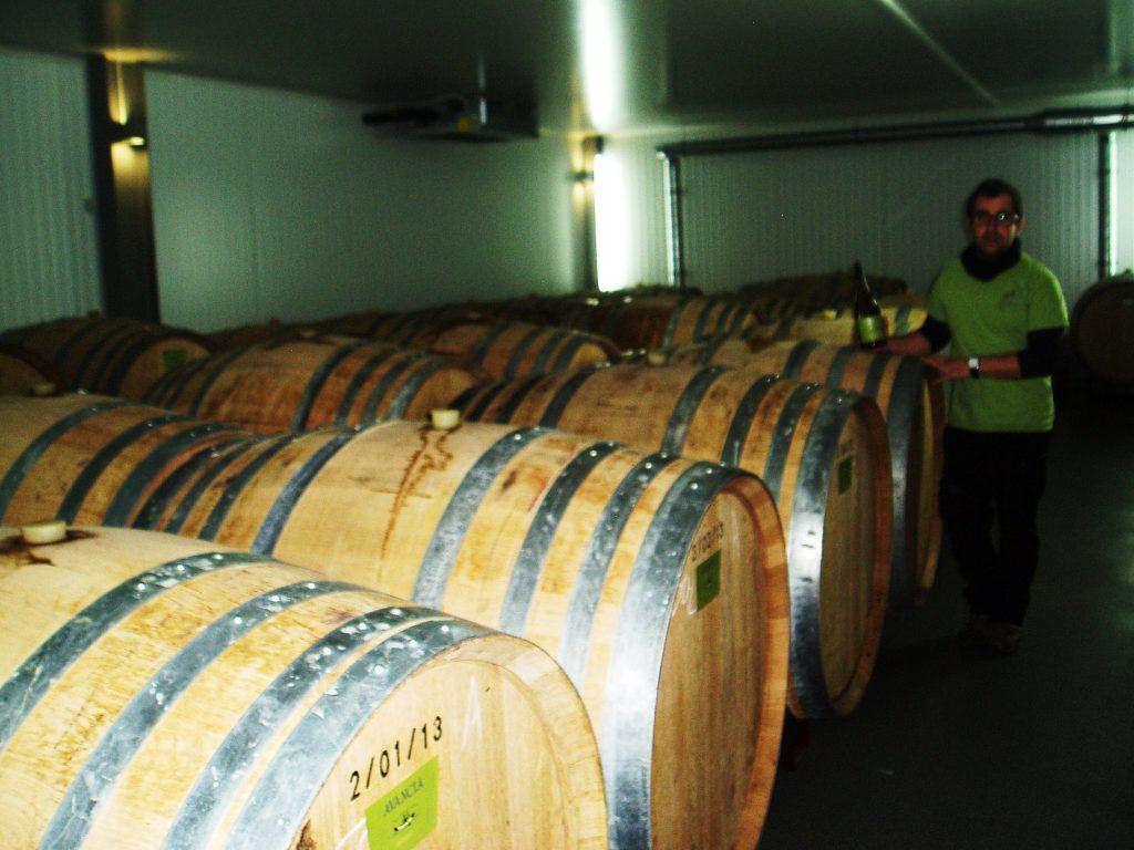 El Avancia Godello es fermentado en barricas de roble francés
