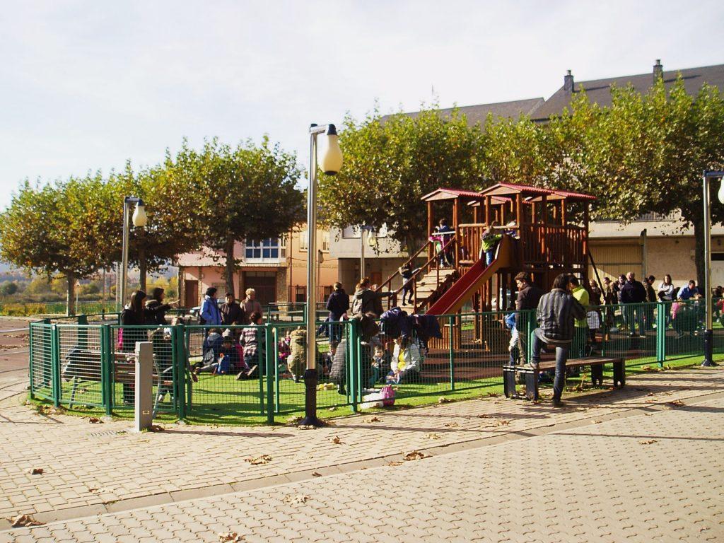 El parque del campo de San Roque