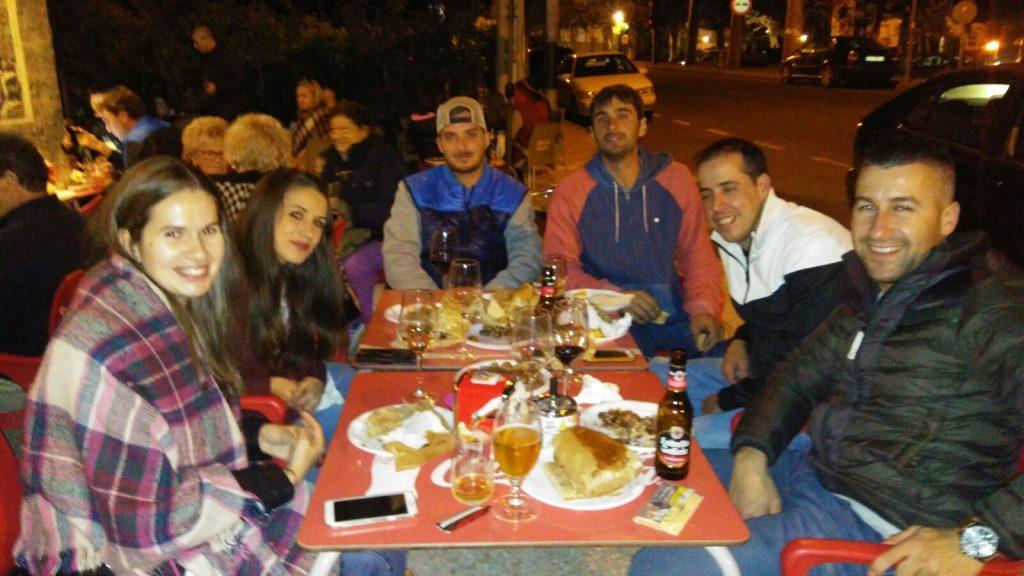 En el Bar San Roque el sábado de magosto