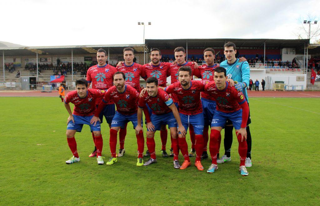 XI del CD Barco ante el Vilalbés