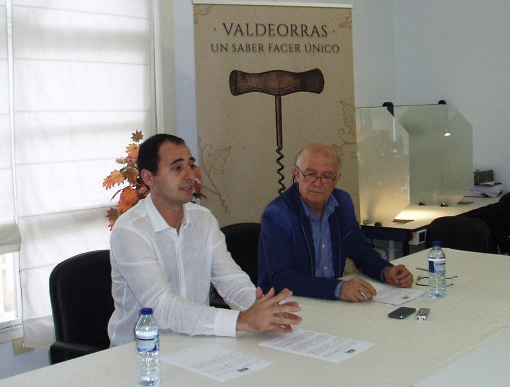 Jorge Illa e Francisco García, durante a rolda de prensa