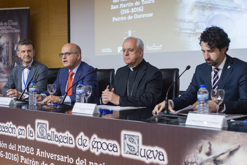 Jorge López Quiroga, Manuel Baltar, Leonardo Lemos e Virxilio Rodríguez.