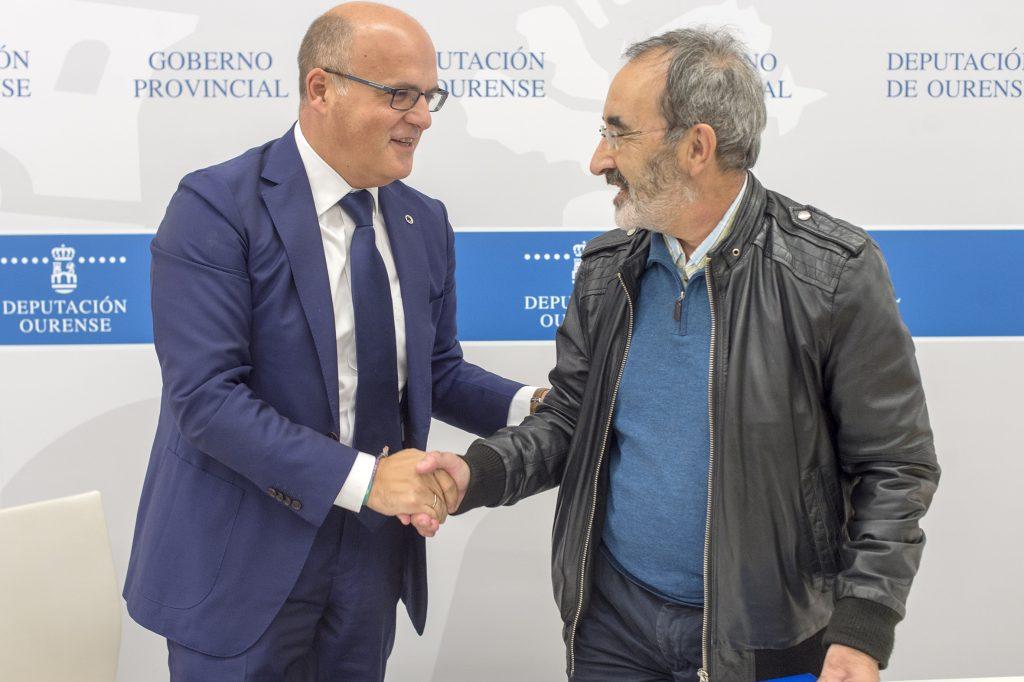 Manuel Baltar e Xabier Casares