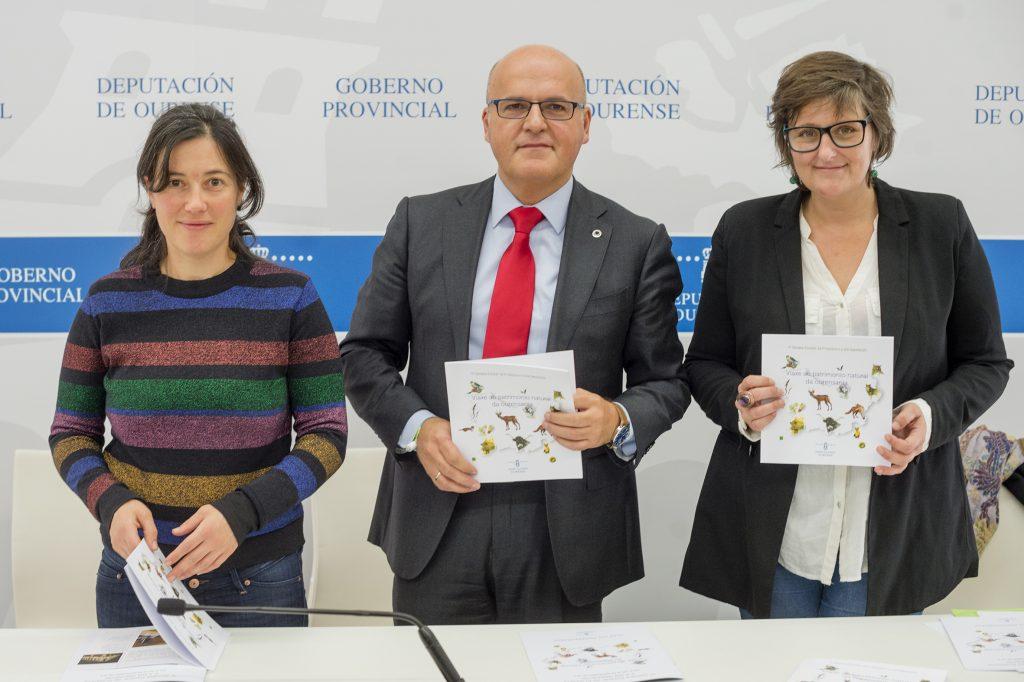 María Lado, Manuel Baltar e Llerena Perozo
