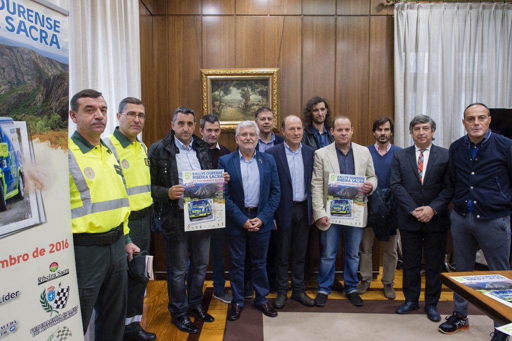 Presentación do Rally Ourense Ribeira Sacra 2016