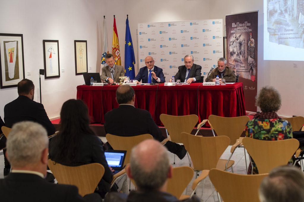 Presentación do congreso de San Martiño de Tours - Casa de Galicia