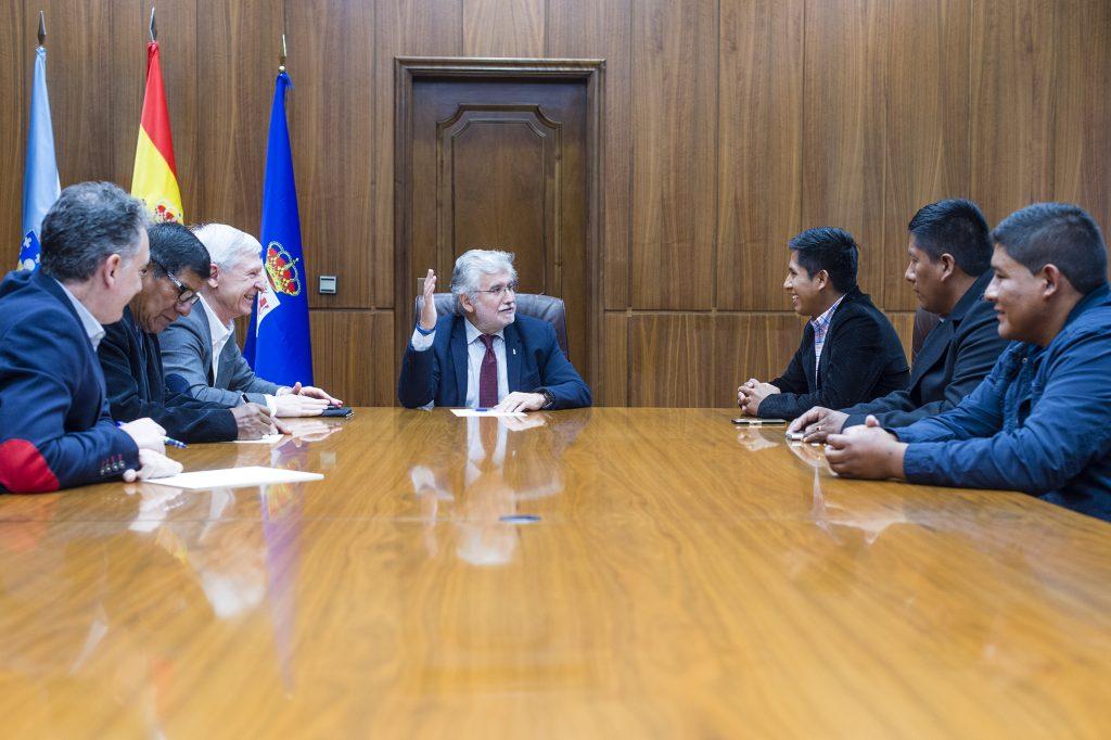 Rosendo Fernández recibe a empresarios de Chile