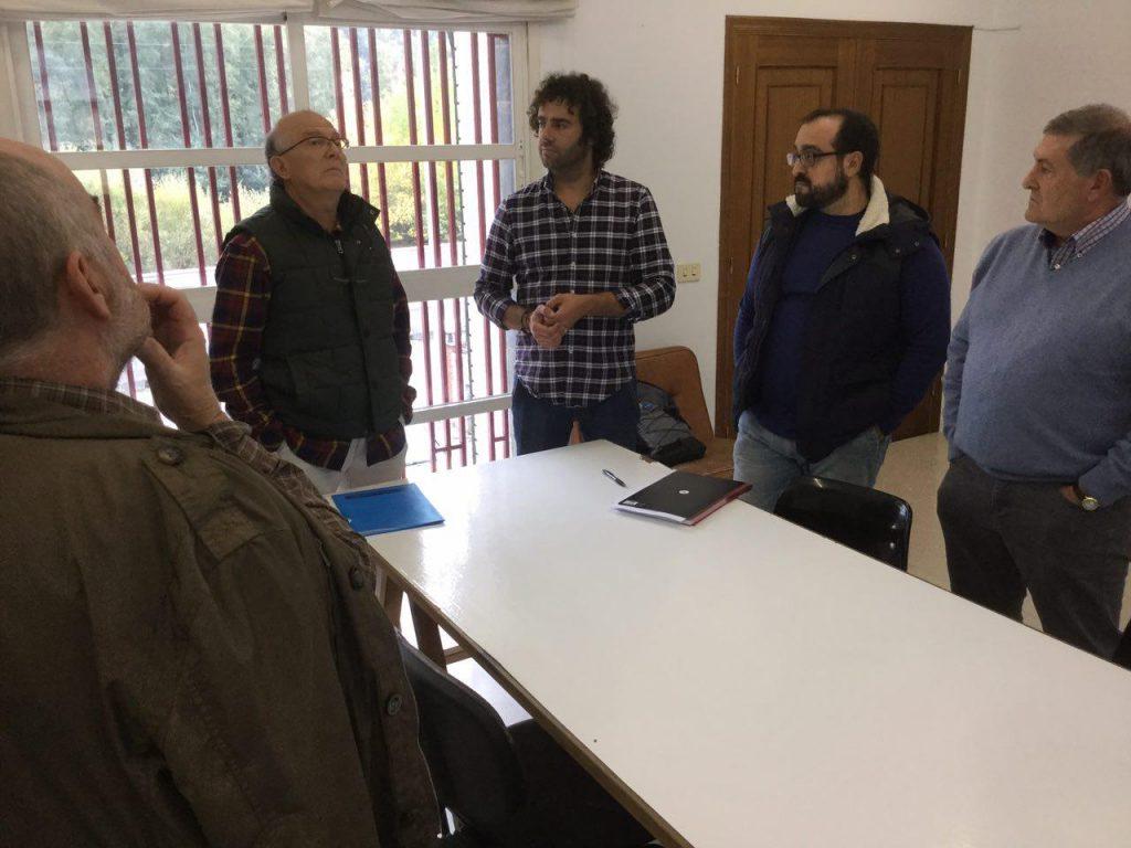 Xuntanza do presidente do Consello Regulador co deputado ourensán de En Marea, Davide Rodríguez