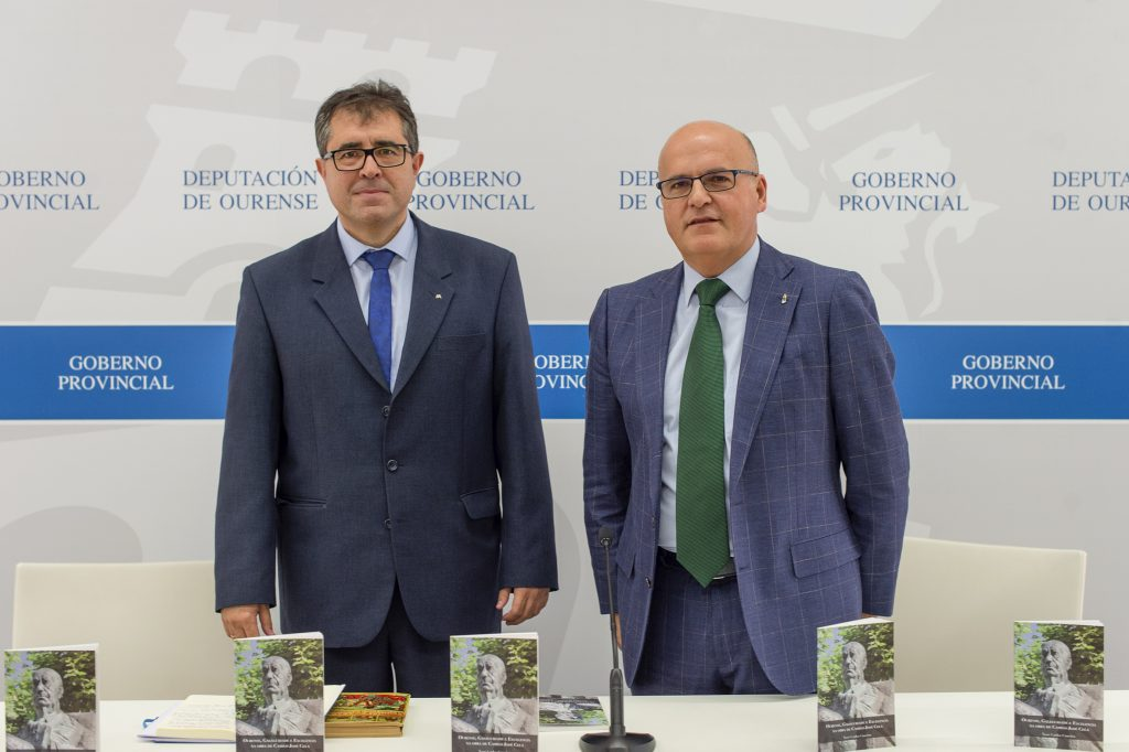 Xosé Carlos Caneiro e Manuel Baltar