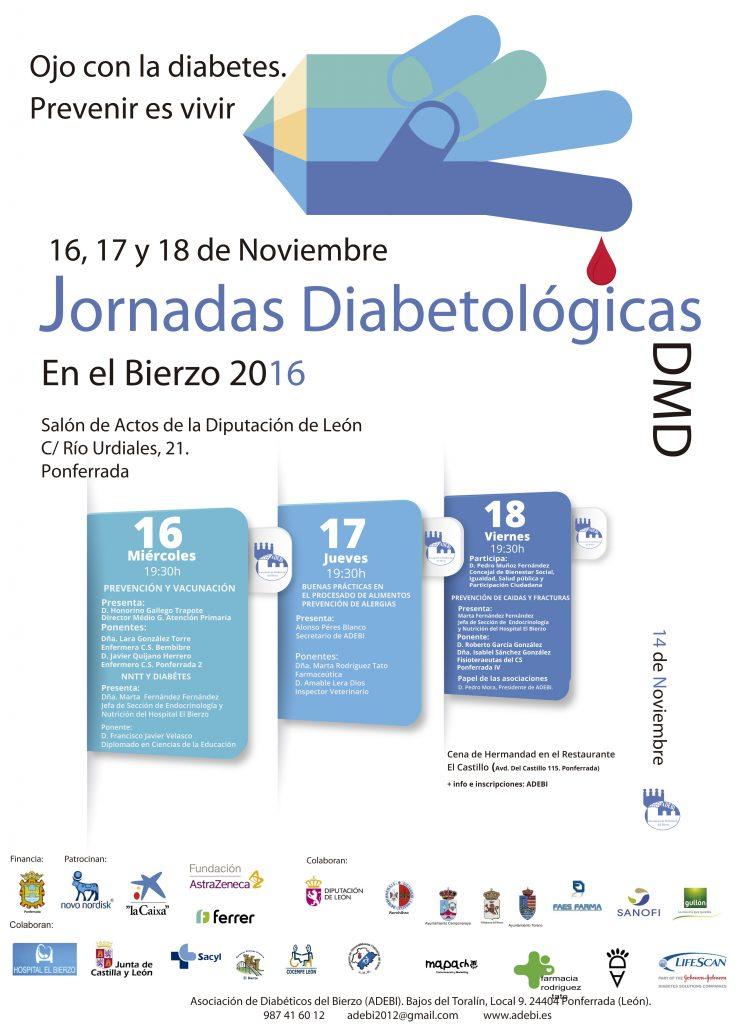 cartel jornadas diabetologicas 2016