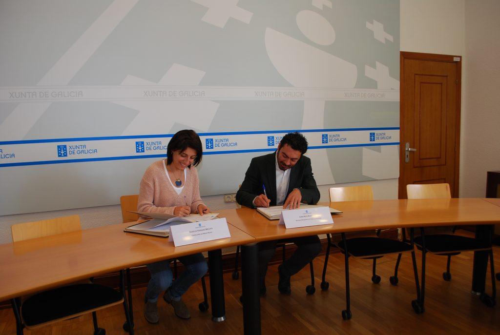 Firma Convenio Xunta