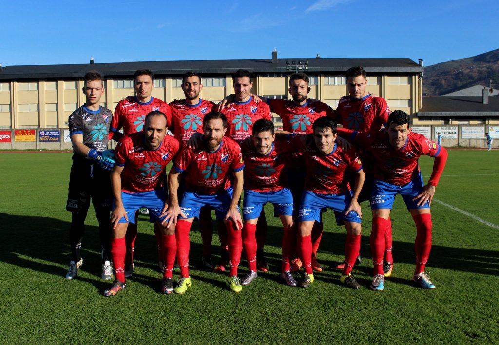 XI del CD Barco ante el Vilalonga
