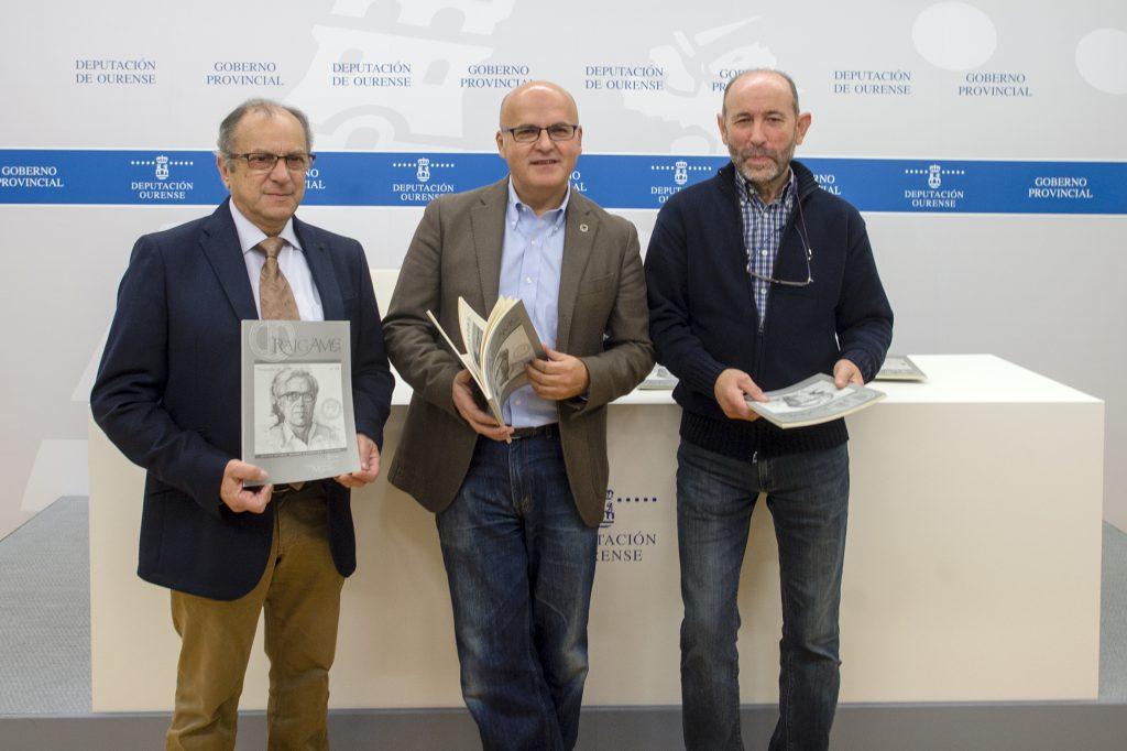 Luis Reimóndez, Manuel Baltar e Xulio Fernández Senra