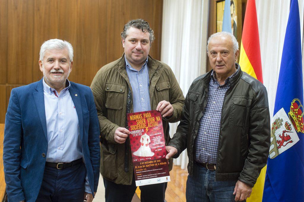 Rosendo Fernández, Cecilio Santalices e Manuel Seoane